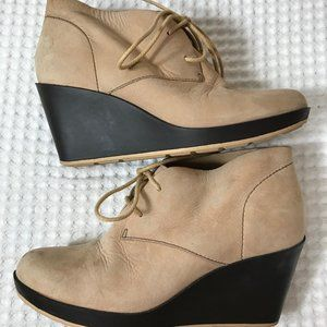 Super soft leather booties
